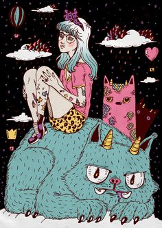 grunge illustration drawing tumblr - Buscar con Google