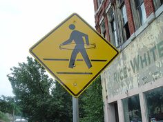 hula hoop pedestrian by honeytoo, via Flickr