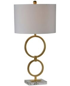 Ren Wil Stack Desk Lamp   Gold