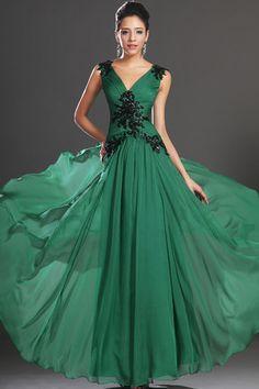 Etui Chiffon Mitte Rücken Mittelgröße bodenlanges elegantes & luxuriöses drapiertes Abendkleid