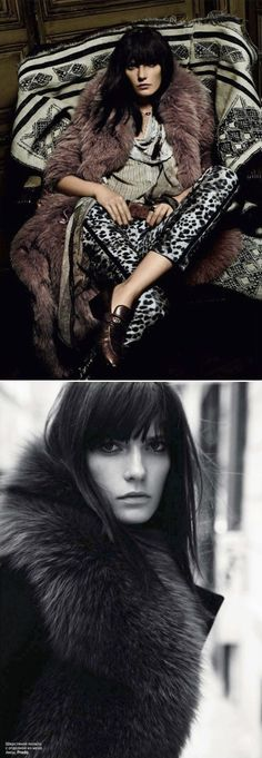 Vogue Russia: where penny lane gets back out of her 70's bed