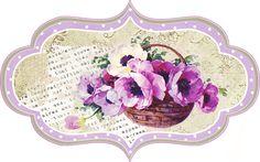 Digi stemple by AliceCreations: 48. Kosze kwiatów