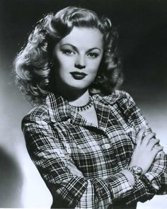 June Haver (June 10, 1926 – July 4, 2005) was an American film actress. She is best remembered as a popular alternative to the musical film stars Betty Grable and Alice Faye in several musicals in the 1940s.