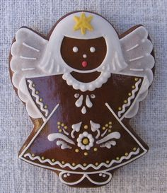 Gingerbread Cookies, Christmas Cookies, My Recipes, Cookie Recipes, Culinary Arts, Holiday Treats, Cookie Decorating, Xmas, Food