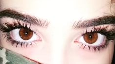 #girl #brown #eyes #tumblr #BigEyes #BrownEyes #pretty #beautiful #longlashes