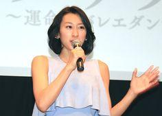 マニュエル・ルグリさんの来日記者会見にスペシャルゲストとして出席した浅田舞さん