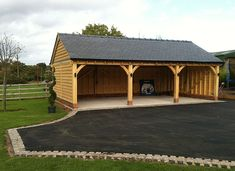 Garages | Cheshire Oak Structures