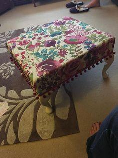 Made a foot stool