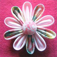 kanzashi flores