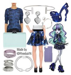 """Twyla (Monster High)"" by rheebavn ❤ liked on Polyvore featuring Alexander McQueen, Proenza Schouler, Pinko, Edie Parker, Eklexic, Gucci, GUESS, GiGi New York, Repossi and Humble Chic"
