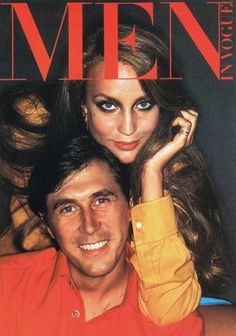 Bryan Ferry & Jerry Hall (Vogue, date unknown)
