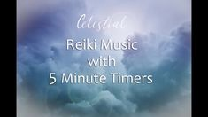 """Reiki Timer 3 Min - Reiki Healing Music With Bells Every 3 Minutes - 26 Positions""""Celestial"""" Reiki Healing Music with 3 Minute Bells for Reiki Timers at Rain And Thunder Sounds, Bad Driburg, Reiki Music, Meditation Music, Reiki Room, Activities For Adults, Me Too Lyrics, Deep Relaxation, Release Stress"""