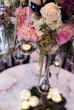 Photo Credit: Reid Photography Event Produced by: Events Table Top: O'Hara Centerpieces, Table Decorations, Wedding Show, Love Is Sweet, Garden Wedding, Photo Credit, Events, Pink, Top