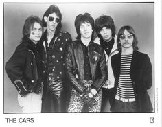 The Cars a Nominee for the 2016 Rock and Roll Hall of Fame #Rockhall2016