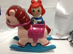 Illco Pre School Toy Rocking Musical Hobby Horse Raggedy Ann Old Susanna Hong  $11.21
