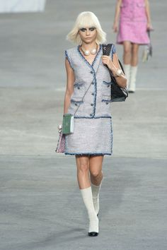We're in love with Chanel Spring 2014 #pfw #ss14