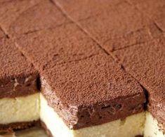 Waniliowy sernik z musem czekoladowym 5 Ingredient Desserts, Polish Recipes, Sweet Tooth, Deserts, Dessert Recipes, Food And Drink, Sweets, Baking, Ethnic Recipes