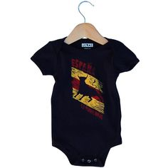 Infant Spain La Furia Roja Soccer Onesie