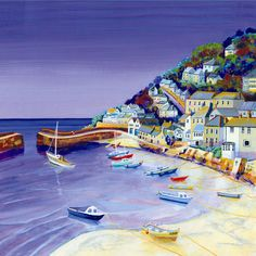 UK ~ Gilly Johns ~ Mousehole