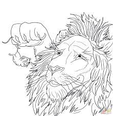 Lion And Mouse Clipart White And Black بحث Google Lion And