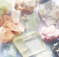 It's a spirituality, it's an aesthetic, and it's more popular than ever. Crystal Magic, Crystal Grid, Rocks And Gems, Rocks And Minerals, Crystals And Gemstones, Stones And Crystals, Healing Crystals, Crystal Aesthetic, Grilling Gifts