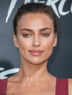 """Gorgeous Irina Shayk with bronzed skin at the """"Hercules"""" Premiere in Los Angeles."""