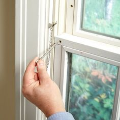 22 Inexpensive Ways to Theft-Proof Your Home DIY Simple Window Locks to Keep Your Home Safe Safe Home Security, Wireless Home Security Systems, Safety And Security, Security Alarm, House Security, Security Products, Wall E, Home Safety Tips, Window Locks