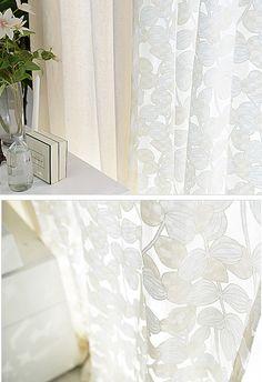 cortinas de gasa de encaje cortinas de ventana por