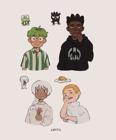 Cute Art Styles, Cartoon Art Styles, Old Cartoon Shows, Old Cartoons, Sanrio Characters, Doja Cat, Sketchbook Inspiration, Art Reference Poses, Pretty Art