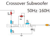 High pass crossover example speakers hi fi system pinterest subwoofer crossover filter circuit electric circuitcar audiocircuitsaudio cheapraybanclubmaster