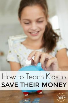 Teaching kids to save their money is more of an art that a science. Here are some tips to help you succeed.