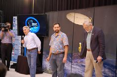 The CubeSats team. The Delta II rocket carrying the SMAP satellite will also be carrying CubeSats. http://www.nasa.gov/directorates/heo/home/CubeSats_initiative.html