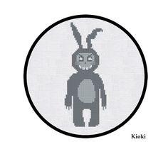 Cross Stitch Pattern Donnie Darko Frank Instant Download
