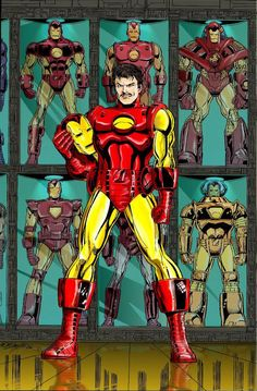 ☈シ iron man tony stark comic Marvel Comics Superheroes, Marvel Comic Universe, Marvel Characters, Marvel Heroes, Marvel Avengers, Comics Universe, Iron Man Art, Jack Kirby Art, Spiderman