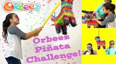 How to Make Your Own Orbeez Filled Piñata Challenge! | Official Orbeez