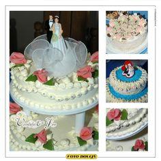 Vendula a Jan, svatební dort