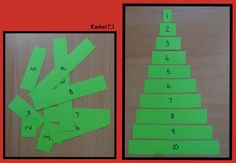 RI group-letter tree or name tree-----Simple Ordering Christmas Tree Puzzle Preschool Christmas, Noel Christmas, Christmas Activities, Christmas Crafts For Kids, Xmas Crafts, Winter Christmas, Christmas Themes, Preschool Math, Eyfs Activities