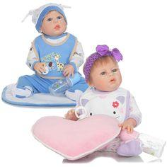 98.04$  Buy here - http://ali7eb.worldwells.pw/go.php?t=32789559494 - 22inch Girl Boy Reborn Dolls 55cm Full Body Silicone Reborn Baby Doll Toys Lifelike Newborn Dolls Brinquedos Boneca Reborn Toys