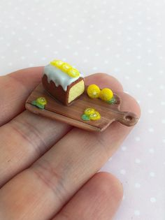 OOAK Pretzel Bread Bakery Miniature Clay Dollhouse Handmade Food Collectibles