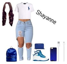 """""""Shayanne (wattpad)😈"""" by queen-imani ❤ liked on Polyvore featuring NIKE, ASOS, Belkin, Casetify and MICHAEL Michael Kors"""
