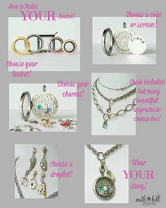 How to build your locket www.southhilldesigns.com/trinaslocketsoflove