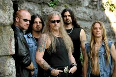 Iced Earth, looking oh so mean