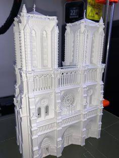 Notre Dame printed by Nicolas Kapsalis #architecture #prusai3