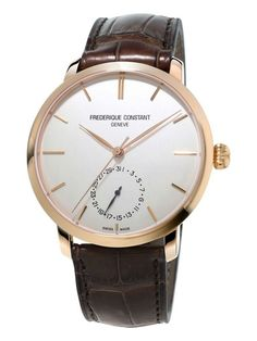 Frederique Constant Watch Slimline Moonphase Manufacture Watch available to buy online from with free UK delivery. Frederique, Stainless Steel Case, Vintage Leather, Quartz Watch, Watch Bands, Omega Watch, Watches For Men, Men's Watches, Accessories