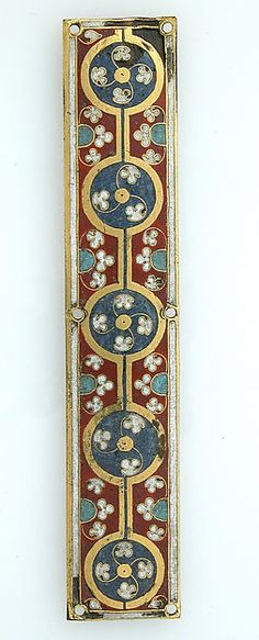 Plaque from a Reliquary Shrine | German | The Metropolitan Museum of Art - Would be beautiful as painted trim.