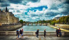 Seine River.Paris by Viktor Korostynski, via 500px