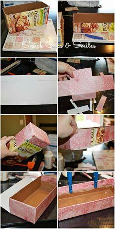 DIY Mail Holder #diy #crafty #organize