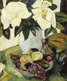 Irma Stern's Still Life with Magnolias is part of the La Motte Museum's current exhibition: Celebrating the love of Art – a personal selection by Hanneli Rup. Henri Rousseau, Henri Matisse, Modern Impressionism, Flower Of Life, Flower Art, Paul Gauguin, Artist At Work, Contemporary Artists, Art Inspo