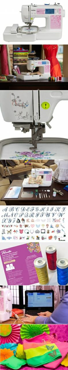 Brother PE500 4x4 Embroidery Machine With 70 Built-in Designs And 5 Fonts #embroidery