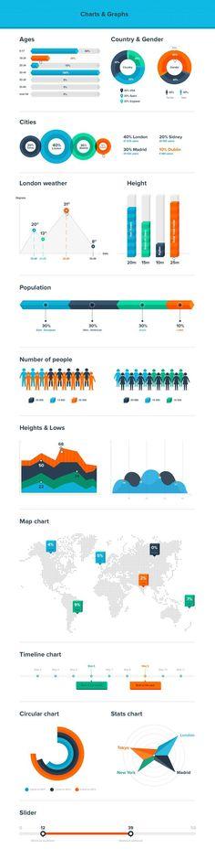Free Charts and Diagrams Kit - Freebies - Fribly